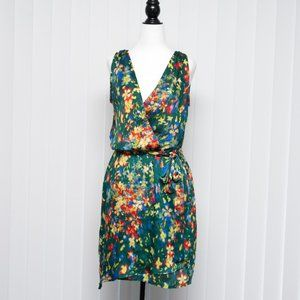Collective Concepts Spring Dress in Green Floral